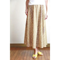 Long Flared Skirt ポリネシアンタパ ロングフレアースカート HNLS02878-26710
