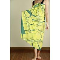 Hawai'ian Pareo  Banana Leaf Lemon Drop HNLS02947-4660