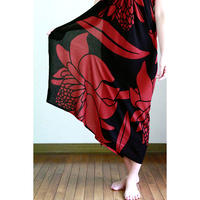 Hawai'ian Pareo   TORCH GINGER  Black/Red    HNLS03045-8660