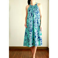 Ginger Dress ハイビスカス/トーチ ワイマナロビーチ ジンジャードレス HNLS02962-48210