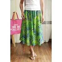 Flare Skirt パームリーフ HNLS02680-53310