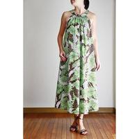 Long Ginger Dress グリーンハイビスカス ロングジンジャードレス HNLS02896-74610