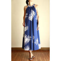 Long Ginger Dress ブルーパンダナス ロングジンジャードレス HNLS02897-74610