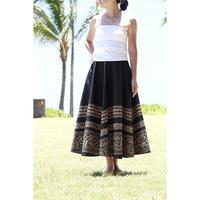 Long Flared Skirt ブラックタパ ロングフレアースカート HNLS02851-37220
