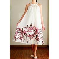 Ginger Dress ミルクホワイト ティーリーフ ジンジャードレス HNLS02958-39510