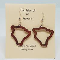 KipukaKai Big Island コアウッドピアス HNLS02553-95910