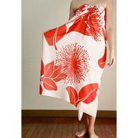 Hawai'ian Pareo   OHIA LEHUA  White/Red   HNLS02989-8660