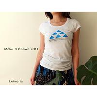 Moku O Keawe モクオケアヴェ フラフェスティバル2011 Tシャツ HNLS1641-23020