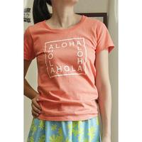 Original  Tシャツ ALOHA Aloha アロハ Leimeria HNLS02623-55010