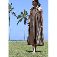Long Ginger Dress ブラウンタパ ロングジンジャードレス HNLS02847-74610
