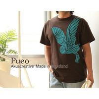 AKUA CREATIVE PUEO フクロウ Tシャツ HNLS01682-62710-PUEO