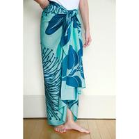 Hawai'ian Pareo   OHIA  LEHUA BEACH GLASS / DEEP LAKE    HNLS03081-1460