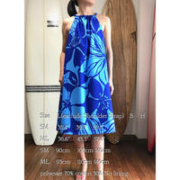 SWING DRESS マカプウブルー ワンピース HNLS02577-80010