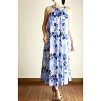 Long Ginger Dress ブループルメリア ロングジンジャードレス HNLS02892-74610