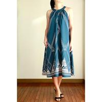 Ginger Dress ハワイアンタトゥー シアン ジンジャードレス HNLS02959-39510