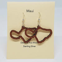 KipukaKai Maui コアウッドピアス HNLS02552-95910