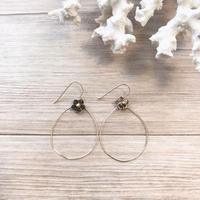 ❁︎  shell × flower  pierce ❁︎