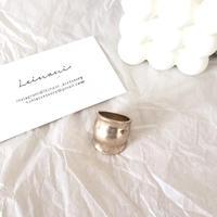 matte gold ring