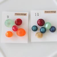 【ボタンセット】ドーム型ボタン(各種9.10) フランスヴィンテージ