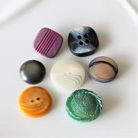 【ボタンセット】france vintage ボタン7個set フランスボタン