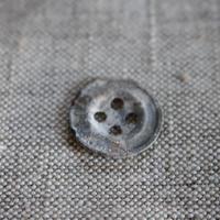 アルミボタン四つ穴 18㎜  フランスヴィンテージ
