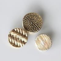 【ボタンセット】france vintage  3個セット フランスボタン