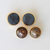 【ボタンセット】france vintage ボタン4個セット(Brown) 132