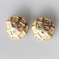 【ボタンセット】france vintage  メタルボタン2個セット