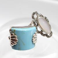 トルコ石の指輪 フランスヴィンテージリング  デッドストック(新品)