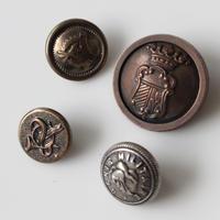【ボタンセット】france vintage deadstock 4個セット フランスボタン