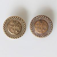 【ボタンセット】france vintage  メタルボタン2個セット 22㎜