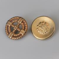 【ボタンセット】france vintage メタルボタン2個セット 20㎜ 130