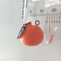 オレンジ果実のパーツ 1.5㎝  フランス 直輸入