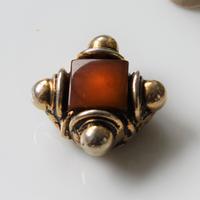 フランスヴィンテージ 装飾ボタン 一つ穴22㎜ フランス