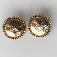 【ボタンセット】france vintage  メタルボタン2個セット 354