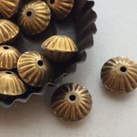 真鍮メタルボール1.6㎝ ビーズ フランスヴィンテージパーツ デッドストック