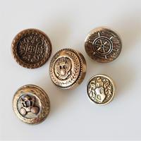 【ボタンセット】france vintage  5個セット