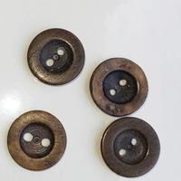 【K様専用】フランスの古い柿ボタン フランスヴィンテージ