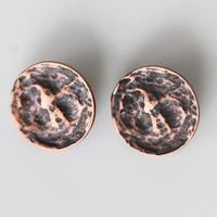 【ボタンセット】france vintage  ブロンズメタルボタン2個セット353