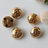 【ボタンセット】france vintage 5個set フランスボタン