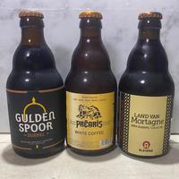レンベーク直輸入ベルギービール3本+コルセンドンク修道院ベルギービール3本とレンベークチーズケーキのマリアージュセット