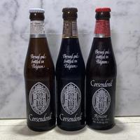 コルセンドンク修道院ベルギービール3種類とレンベークチーズケーキのマリアージュセット