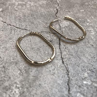 asymmetry hoop pierce