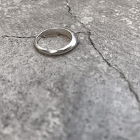 matte oval  ring