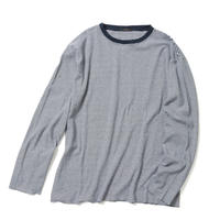 【UNISEX】LONG SLEEVE BORDER T-SHIRT