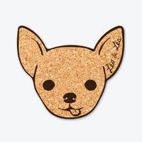 コースター/チワワ - レオ&レア(Japan)