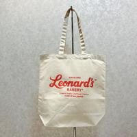 Leonard'sロゴ入りトートバッグ(M)(ナチュラル)