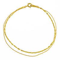 2 tone  bracelet【ツートーン ブレスレット】