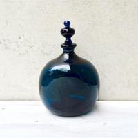星耕硝子 線付き瓶(扁壺型)