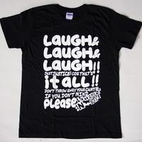 LAUGH LAUGH LAUGH ブラック